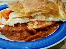 Slow cooked Quorn pie