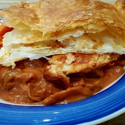 Slow cooked Quorn pie