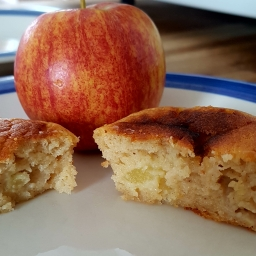 Apple and honey muffins