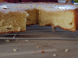 Yoghurt cake (with sprinkles)