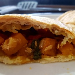 Tamarind spiced vegetable pasty